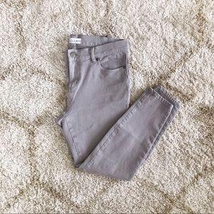 LOFT Grey Modern Legging Jeans